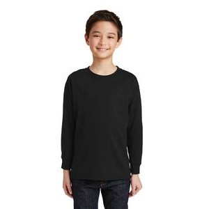 Gildan® Youth Heavy Cotton™ 100% Cotton Long Sleeve T-Shirt