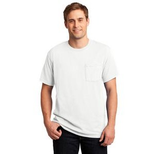 JERZEES® Men's Dri-Power® 50/50 Cotton/Poly Pocket T-Shirt
