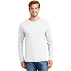 Hanes® Men's Tagless® 100% Cotton Long Sleeve T-Shirt
