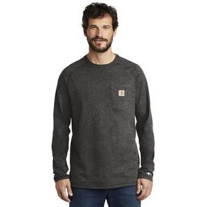 Carhartt Force® Men's Cotton Delmont Long Sleeve T-Shirt