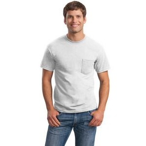 Gildan® Men's Ultra Cotton® 100% Cotton T-Shirt w/Pocket