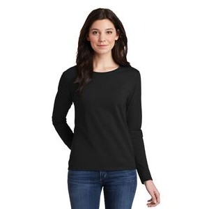 Gildan® Ladies' Heavy Cotton™ 100% Cotton Long Sleeve T-Shirt