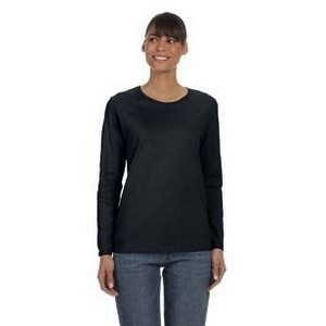 Gildan Ladies' Heavy Cotton? 5.3 oz. Long-Sleeve T-Shirt