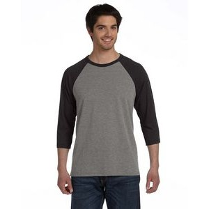 Canvas Unisex 3/4-Sleeve Baseball T-Shirt