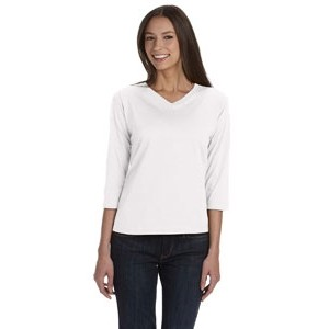 LAT Ladies' Premium Jersey 3/4-Sleeve T-Shirt