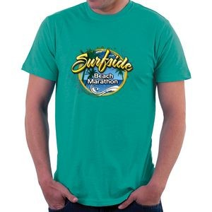 "Full Color Digitally Printed T-Shirt (9"" x 12"" ) Image"
