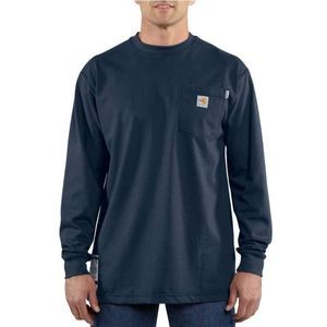 Cahrartt® Men's Flame-Resistant Force Cotton Long-Sleeve T-Shirt