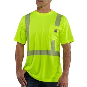 Carhartt Force® Men's High-Visibility Short Sleeve Class 2 T-Shirt