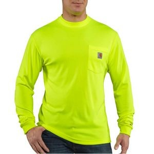 Carhartt Force® Men's Color Enhanced Long Sleeve T-Shirt