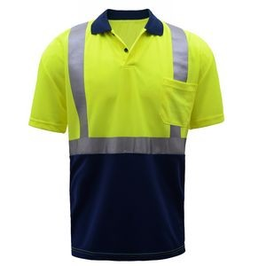 GSS™ Class 2 Moisture Wicking Safety Polo (Lime)